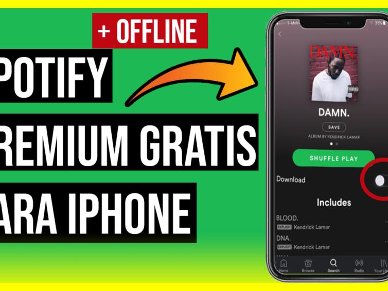 Descargar Spotify Premium Gratis para Cualquier iPhone y iPad
