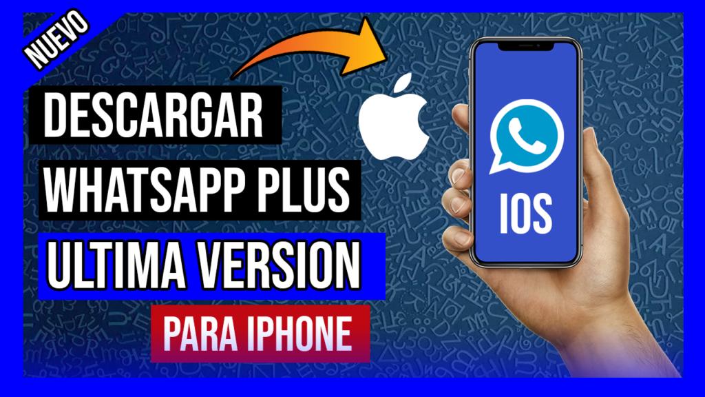 descargar whatsapp iphone plus
