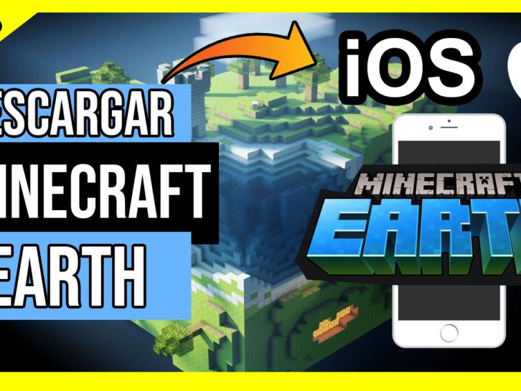 Descargar Minecraft Earth Para iOS Cualquier iPhone y iPAD