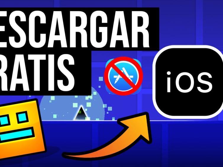 Descargar Geometry Dash GRATIS Para iOS Cualquier iPhone Ultima Version
