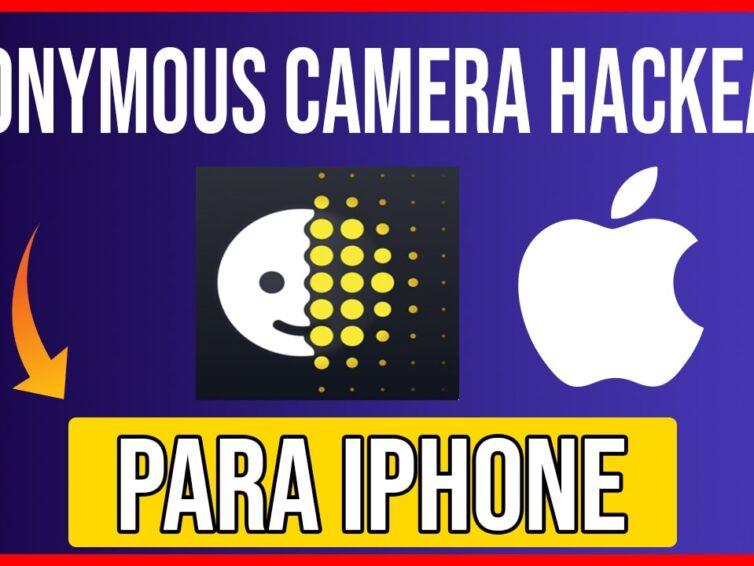 Descargar Anonymous Camera para iOS Cualquier iPhone GRATIS Ultima Version
