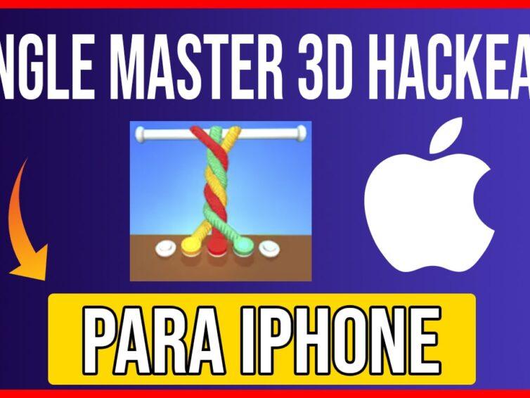 Descargar Tangle Master 3D Hackeado para iOS Cualquier iPhone, iPad, iPod SIN JAILBREAK